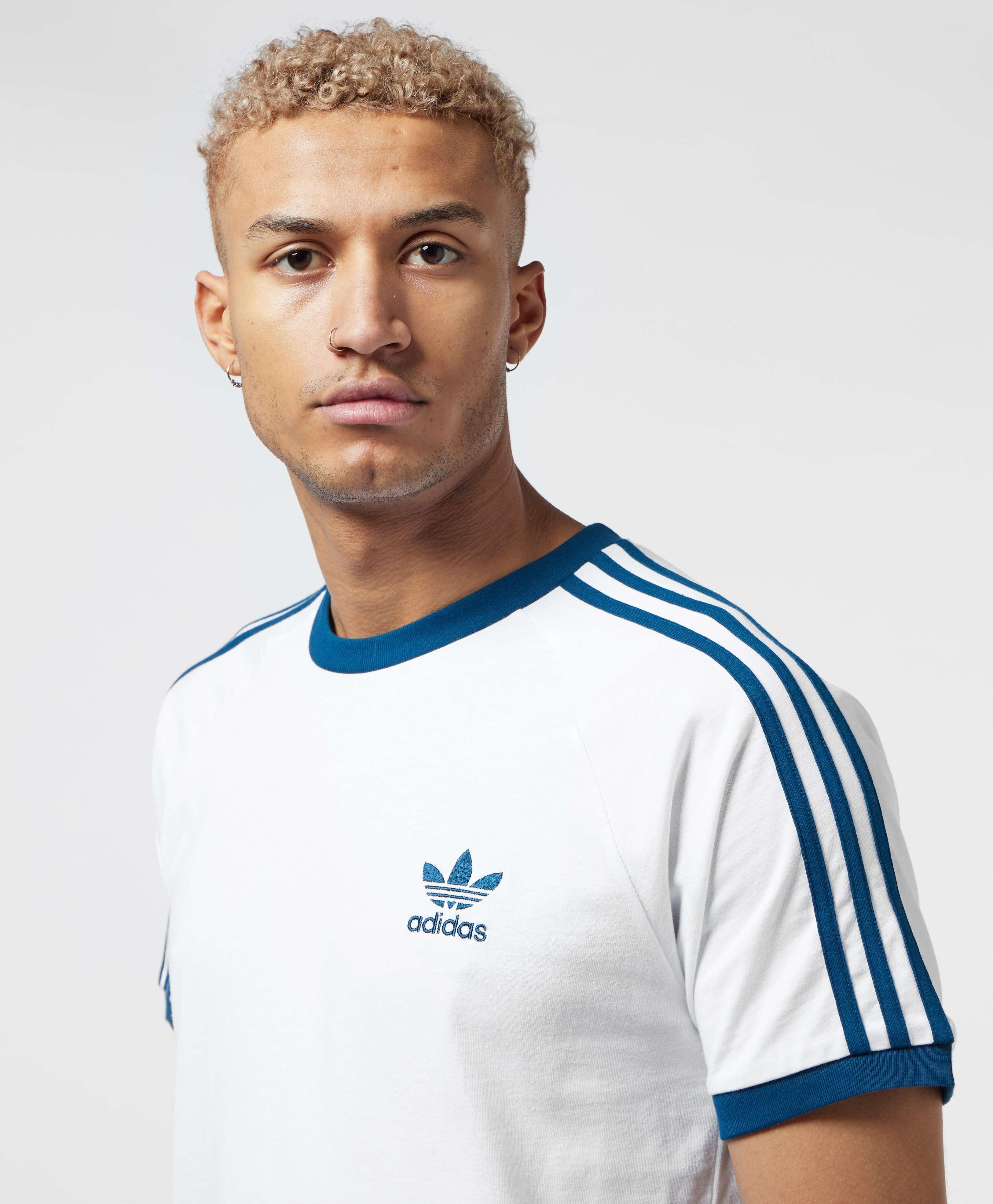 adidas Originals 3-Stripes California Short Sleeve T-Shirt