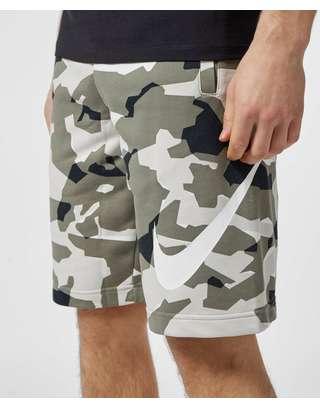 Nike Camo Fleece Shorts