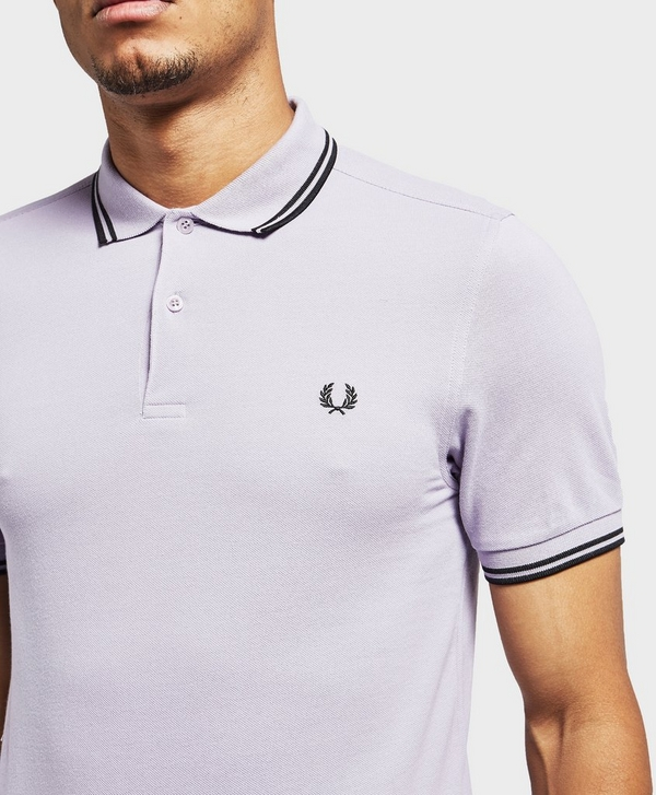 7d65a8a9 Fred Perry Twin Tipped Short Sleeve Polo Shirt | scotts Menswear
