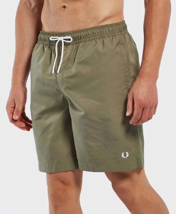0684534713 Fred Perry Textured Swim Shorts | scotts Menswear