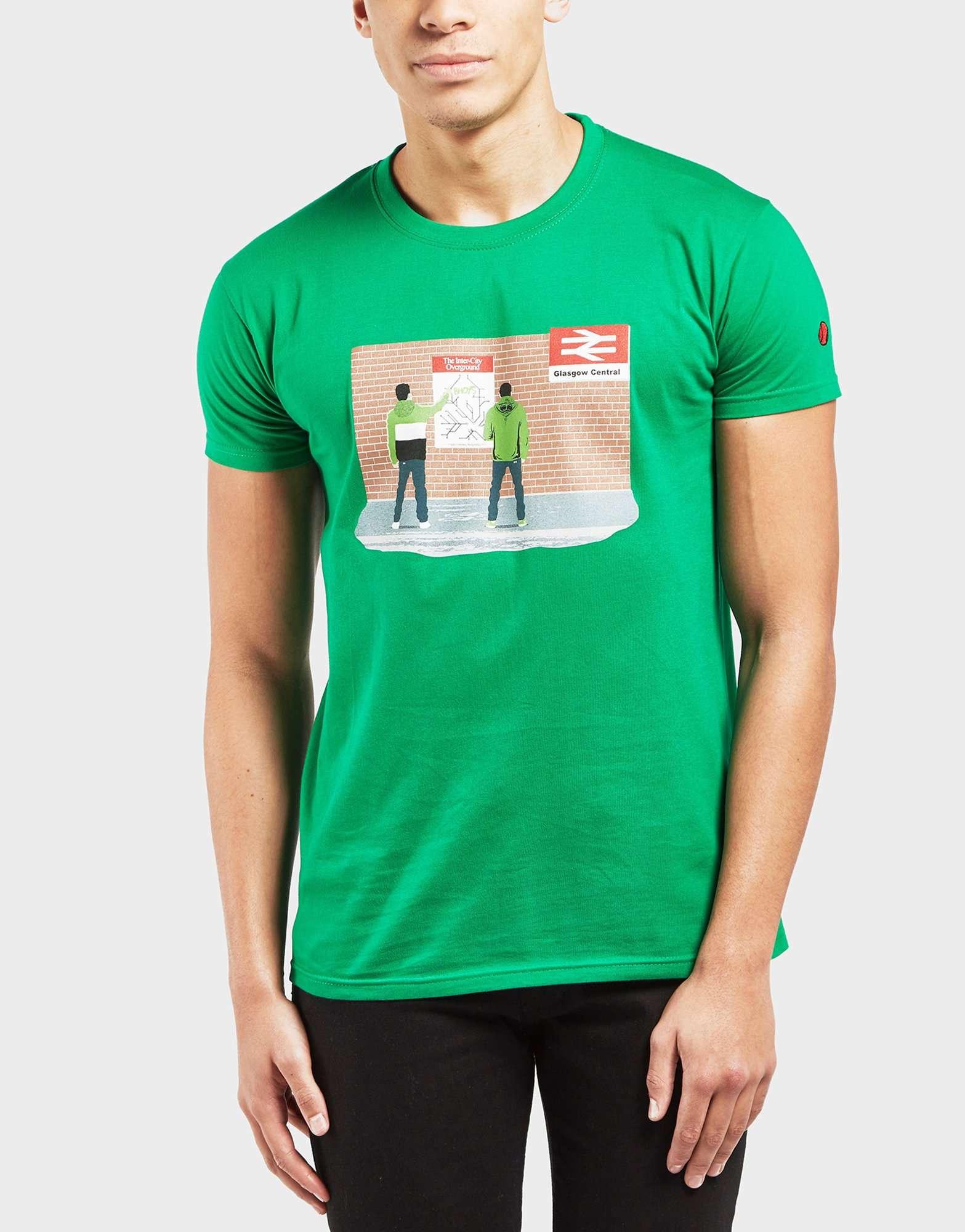 6f0d60f5 80s Casuals Celtic Short Sleeve T-Shirt - Exclusive | scotts Menswear