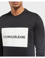 Calvin Klein Large Box Crew Sweatshirt