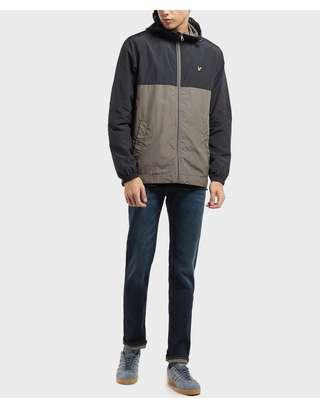 Lyle & Scott Colour Block Zip Through Jacket