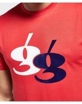 Gio Goi Large Flock Short Sleeve T-Shirt