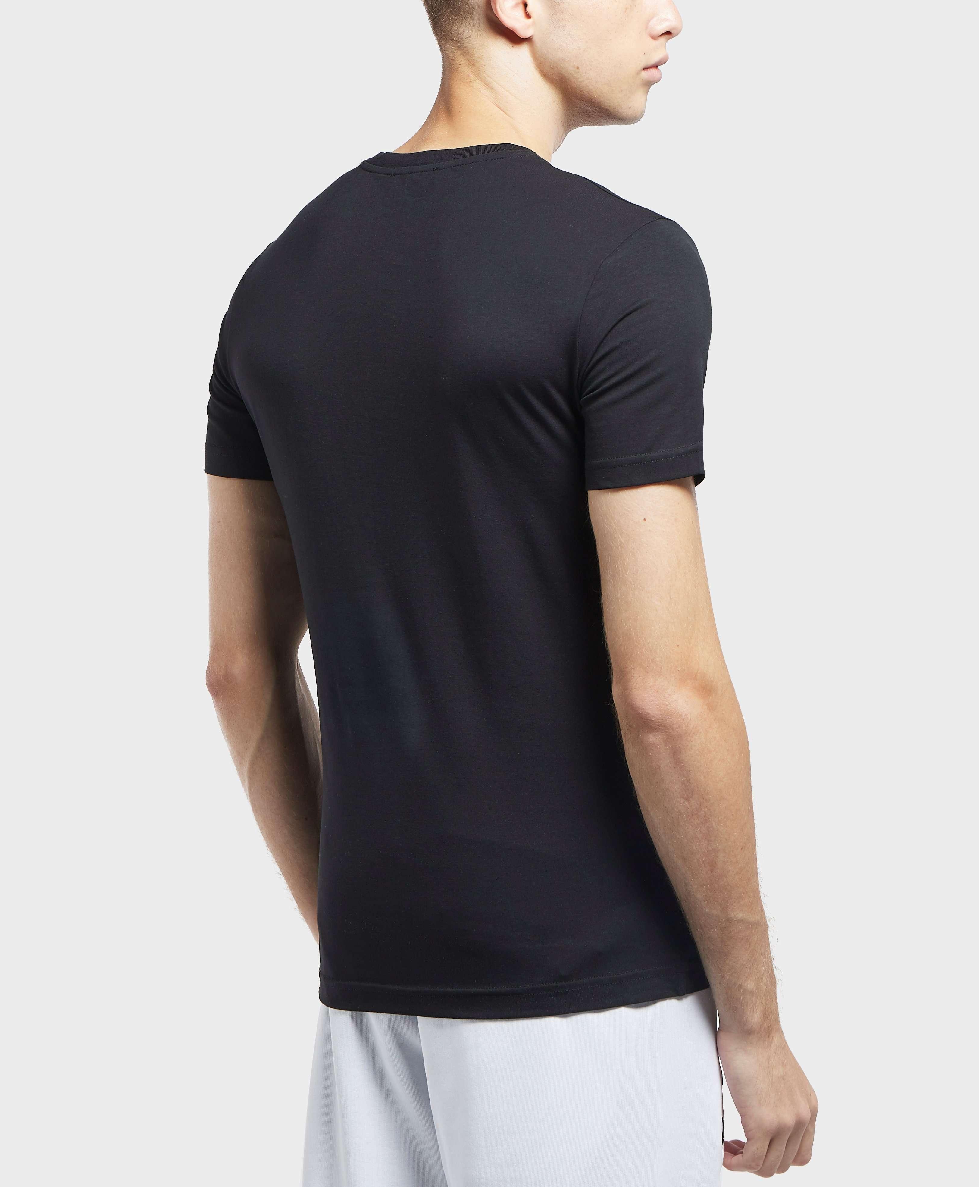 Versace Jeans Gold Logo Short Sleeve T-Shirt