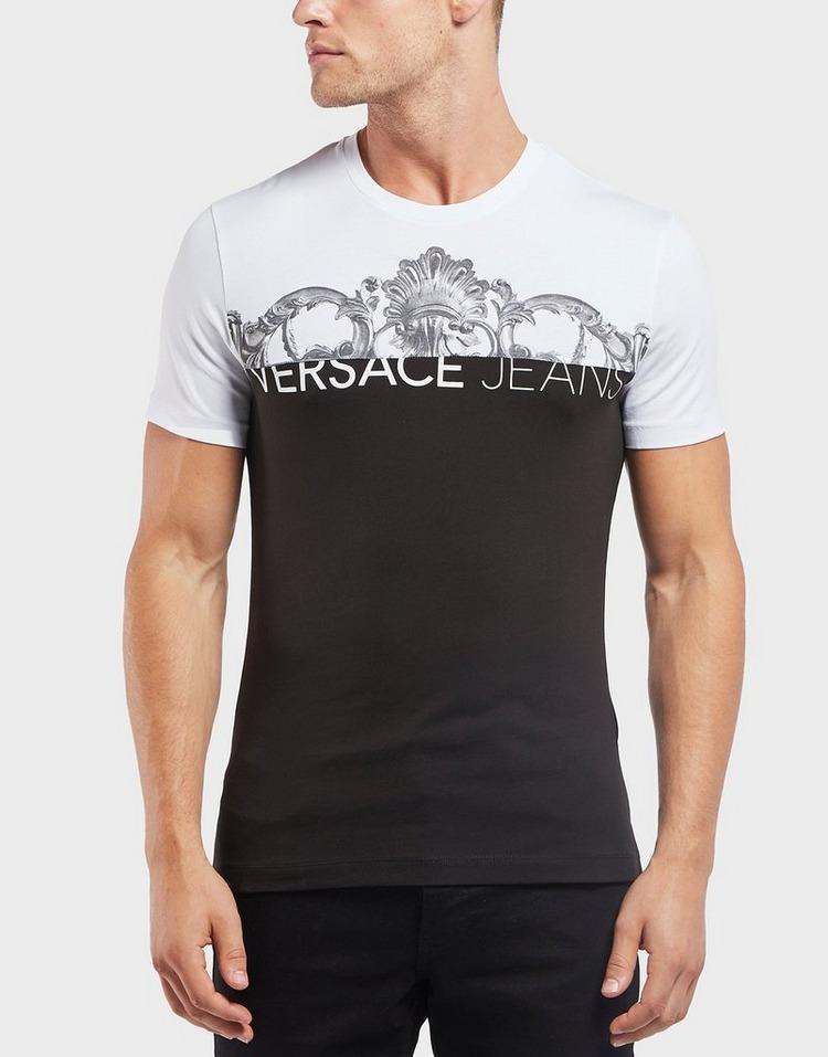 Versace Jeans Half and Half Short Sleeve T-Shirt