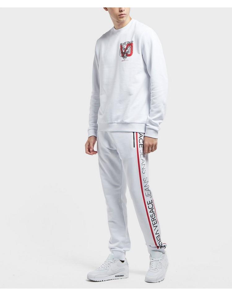 Versace Jeans Rubber Tiger Crew Sweatshirt