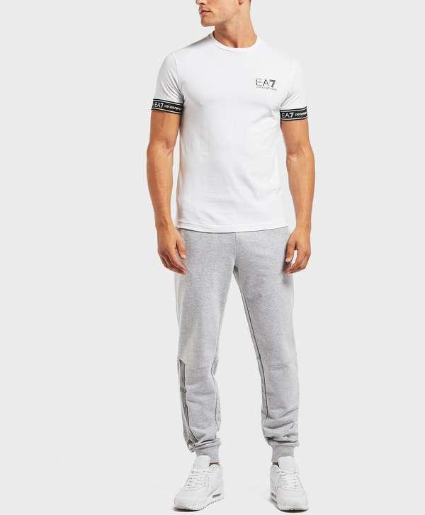 81c5927c Emporio Armani EA7 Tape Cuff Short Sleeve T-Shirt - Exclusive ...