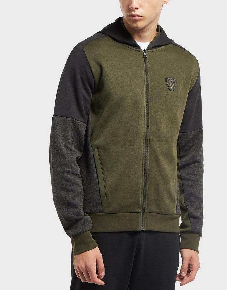 Emporio Armani EA7 Premium Cut and Sew Full Zip Hoodie - Exclusive