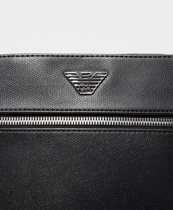 Emporio Armani Metallic Eagle Small Item Bag