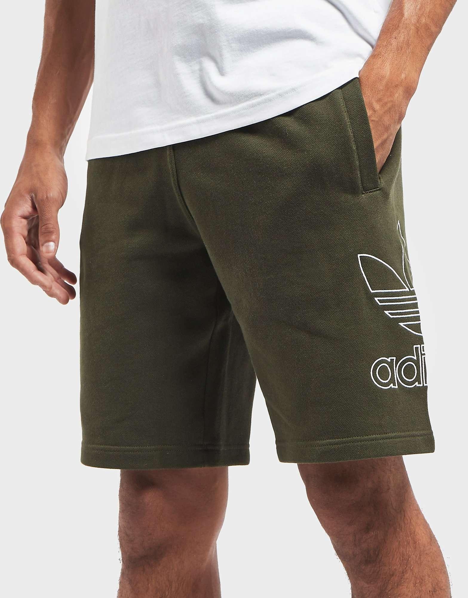 adidas Originals Outline Logo Fleece Shorts