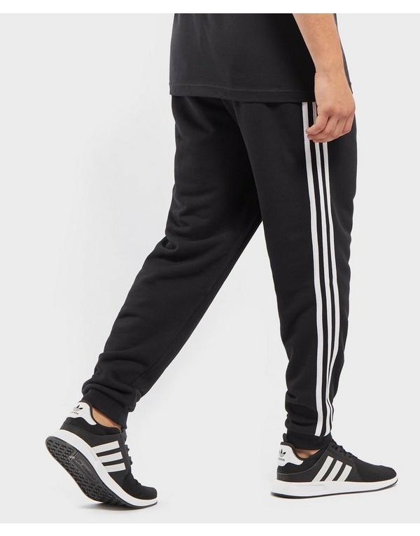 adidas 3 stripe fleece jogger pants