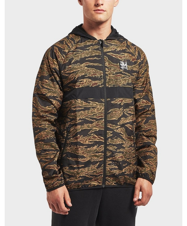 bae48195a66a adidas Originals Tiger Camouflage Windbreaker Jacket