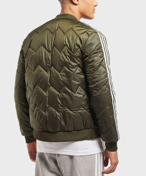 8ea614305 ... adidas Originals SST Quilted Bomber Jacket ...