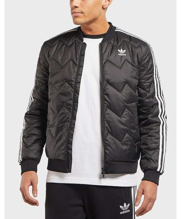 acbc16912 adidas Originals SST Quilted Bomber Jacket | scotts Menswear