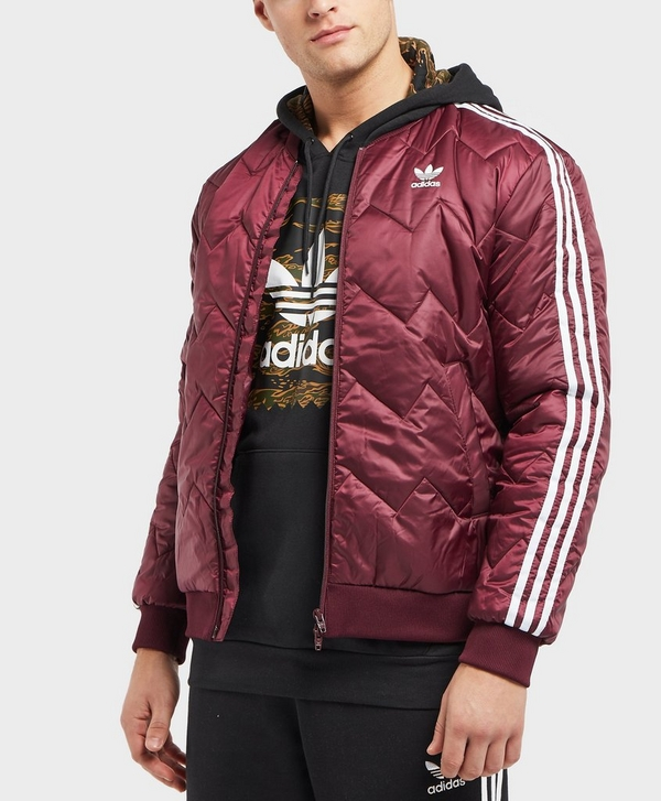 4b887f7c2 adidas Originals SST Quilted Bomber Jacket