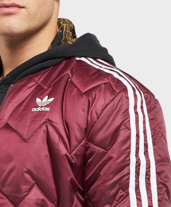 Adidas SST Quilted Bomber Jacket NWT
