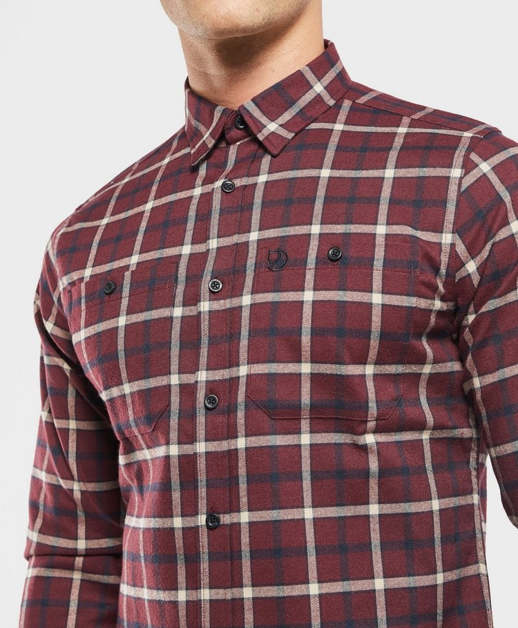 Fjallraven Fjallslim Check Long Sleeve Shirt