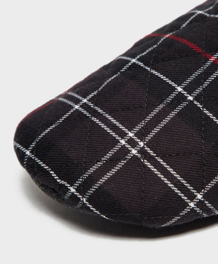 Barbour Guthrie Quilted Tartan Slippers