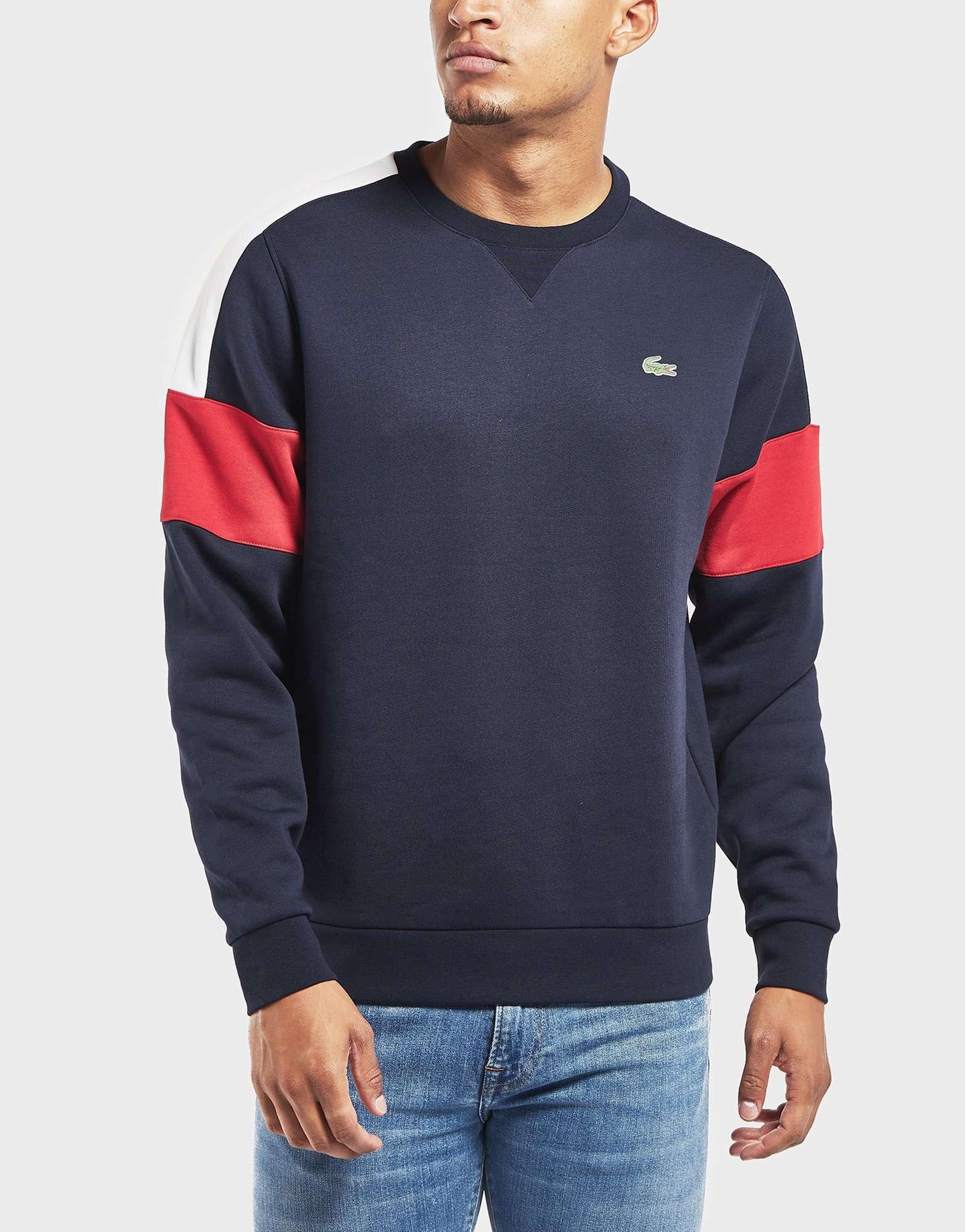 Lacoste Sleeve Menswear Sport Panel SweatshirtScotts A4R5jL