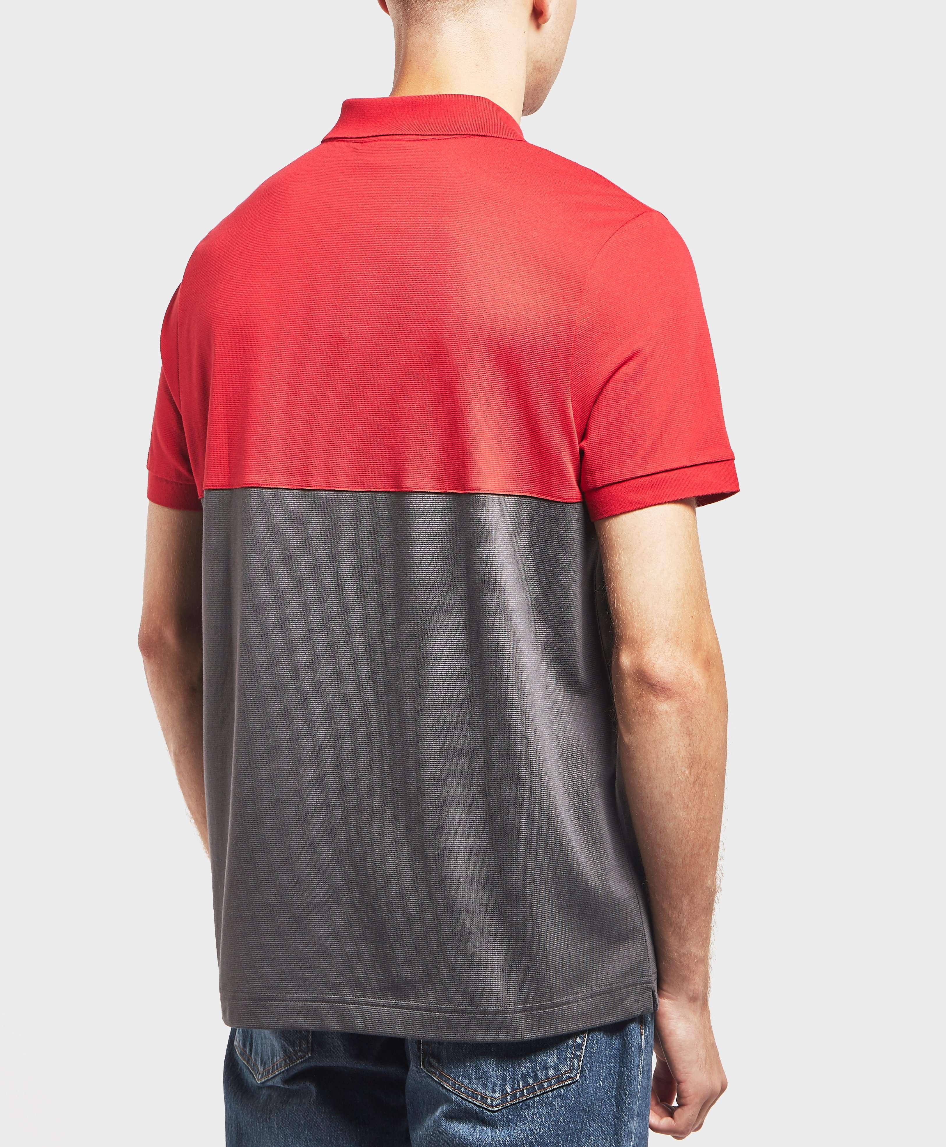 Lacoste Block Short Sleeve Polo Shirt