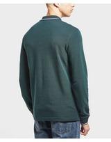 Lacoste Beye Tipped Long Sleeve Polo Shirt