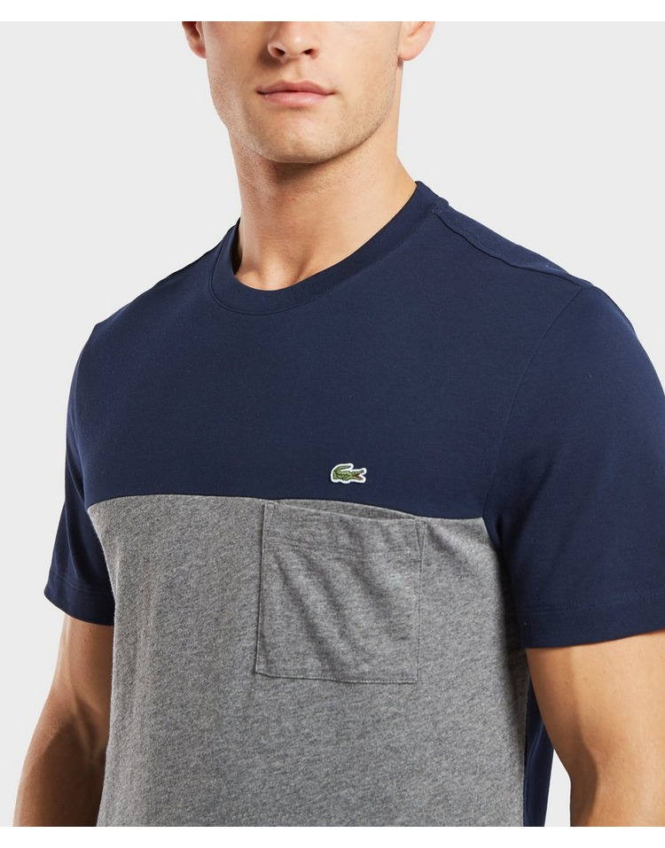 Lacoste Mix Block Short Sleeve T-Shirt