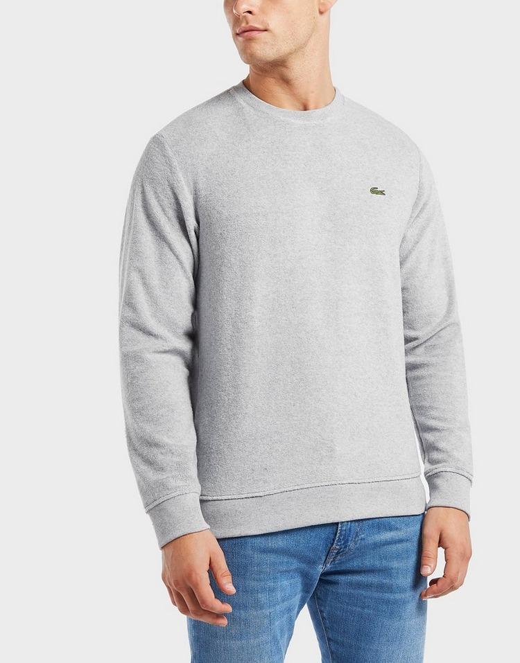 Lacoste Velour Crew Sweatshirt