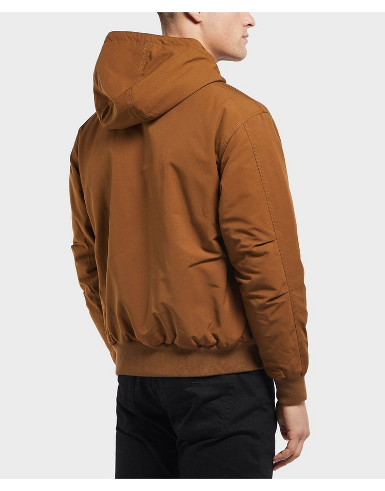Lacoste Quilted Twill Hooded Bomber Jacket