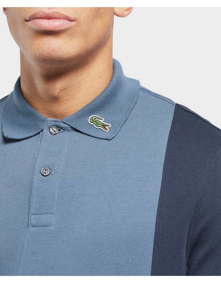 Lacoste Colour Block Long Sleeve Polo Shirt