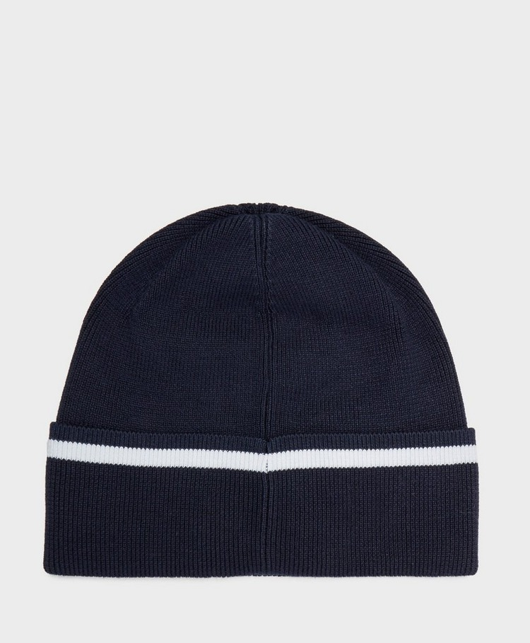 Lacoste Knitted Retro Logo Beanie