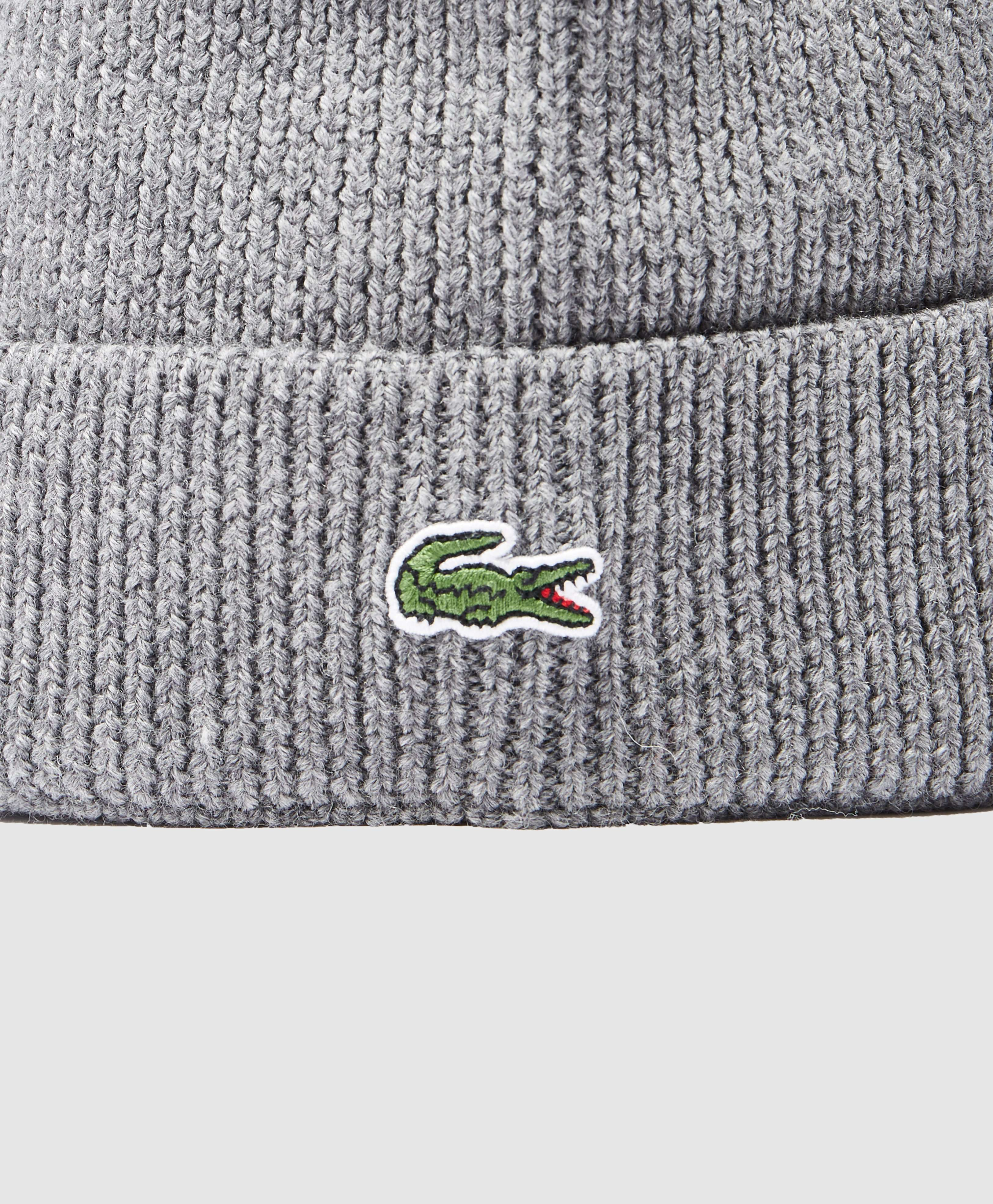 Lacoste Ribbed Beanie