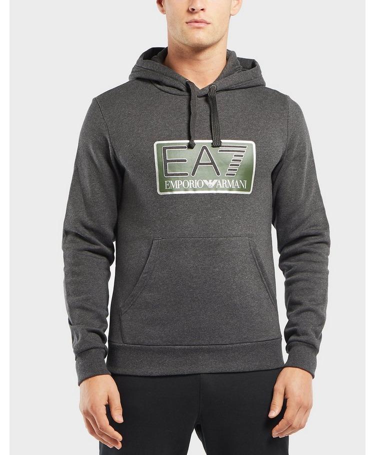 Emporio Armani EA7 Visibility Logo Overhead Hoodie
