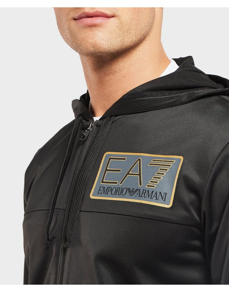 Emporio Armani EA7 Visibility Logo Full Zip Hoodie
