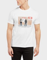 80s Casuals Magpies Station Short Sleeve T-Shirt - Exclusive