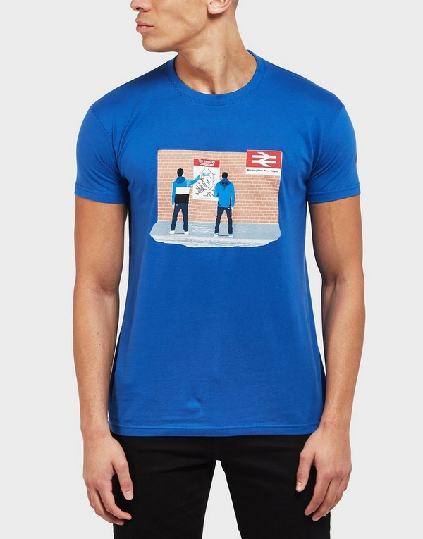 80s Casuals Blues Station Short Sleeve T-Shirt - Exclusive