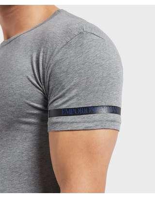 Emporio Armani Tape Logo Short Sleeve T-Shirt