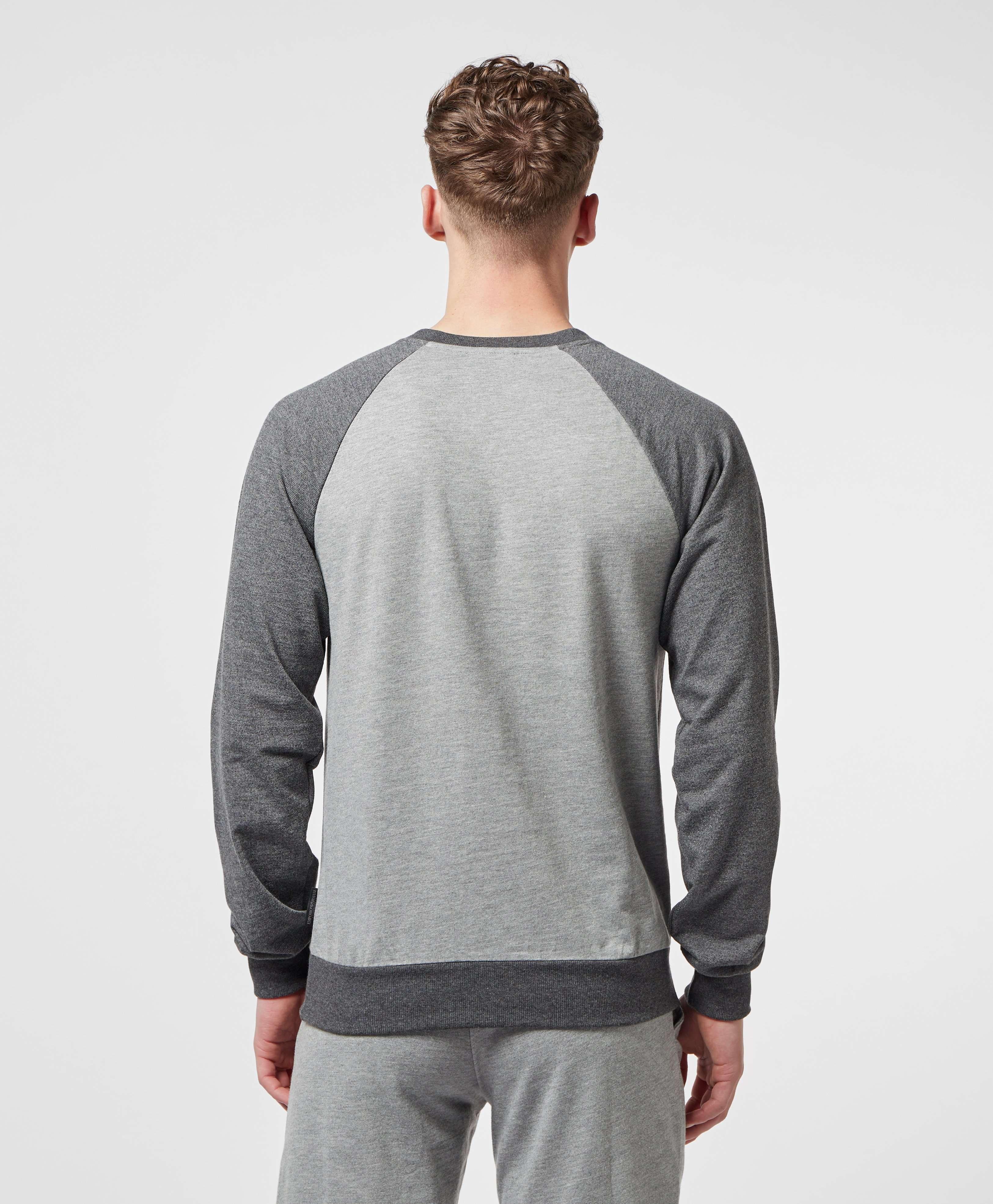 Emporio Armani Logo Raglan Sweatshirt