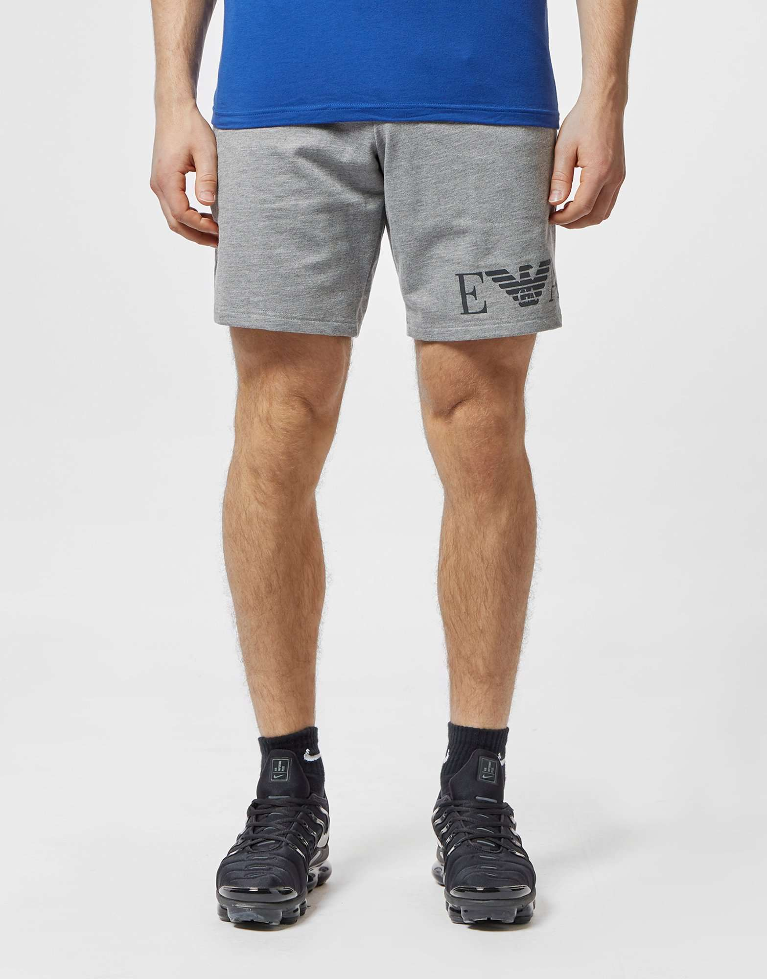 Emporio Armani Logo Fleece Shorts
