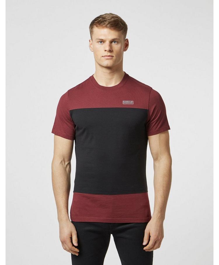 Barbour International Block Panel Short Sleeve T-Shirt