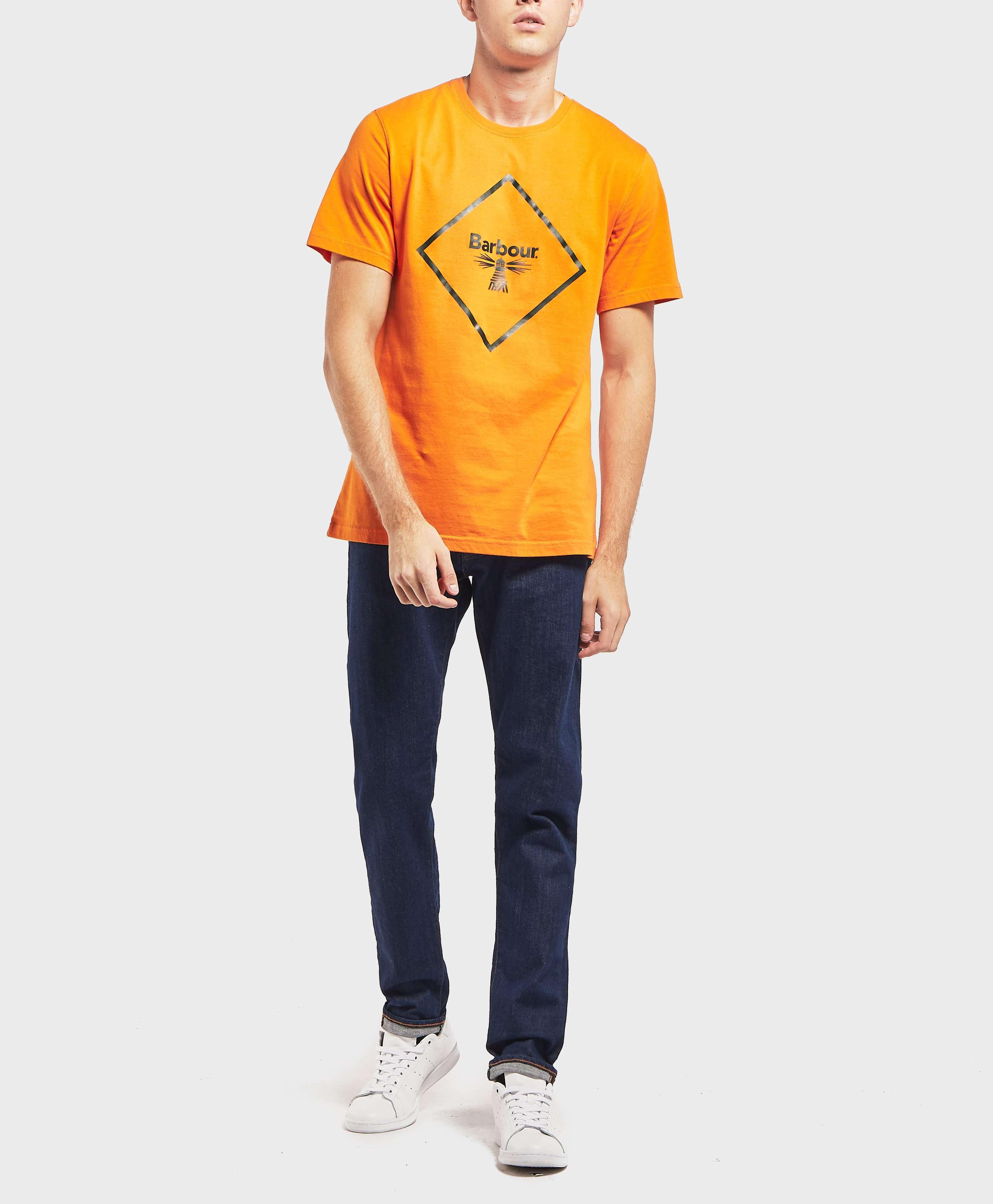 Barbour Beacon Large Logo T-Shirt