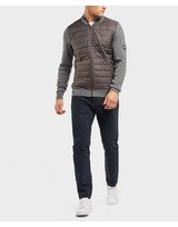 Barbour International Baffle Zip Through Sweatshirt