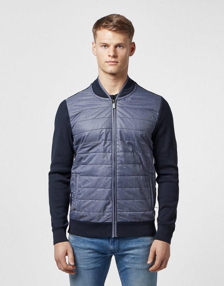 Barbour International Baffle Zip Through Sweatshirt