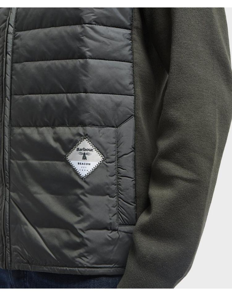 Barbour Beacon Baffle Zip Through Fleece Sweat