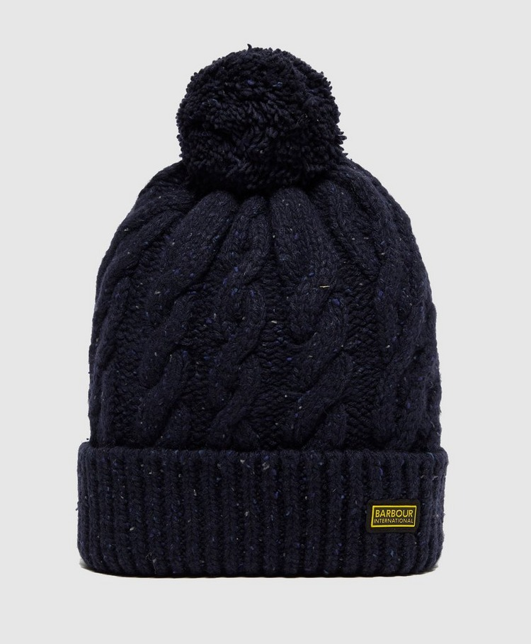 Barbour International Bobble Hat