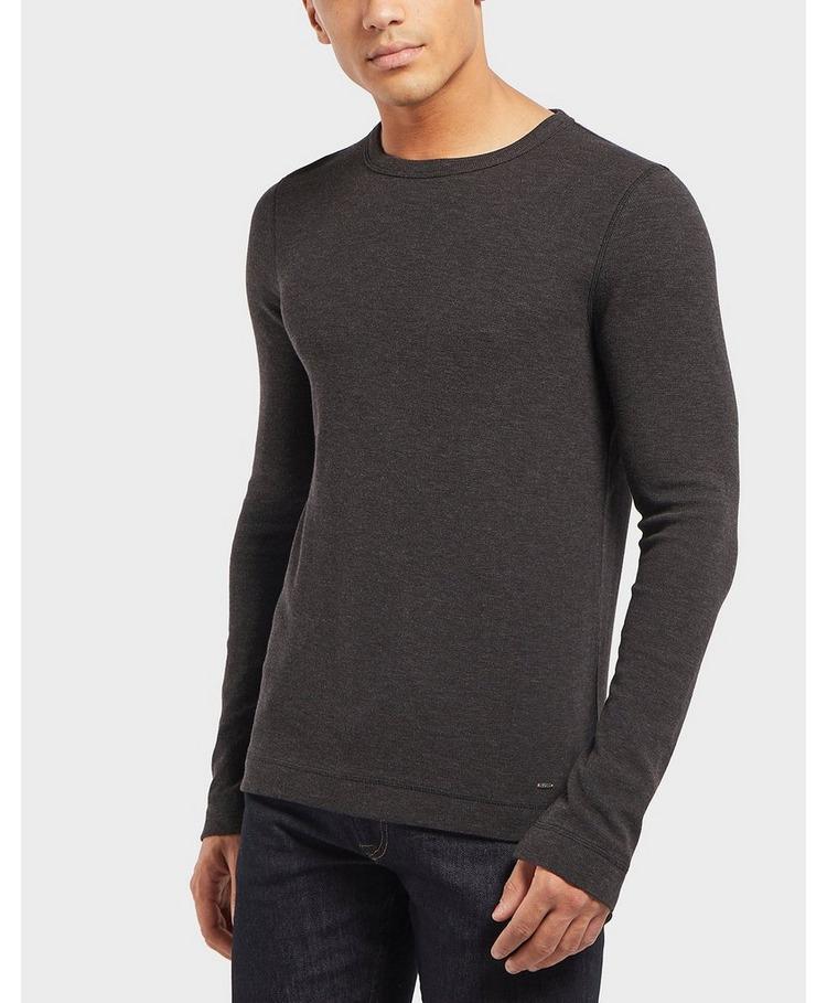 BOSS Waffle Long Sleeve T-Shirt