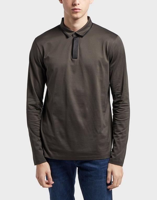 HUGO Dalander Long Sleeve Polo Shirt