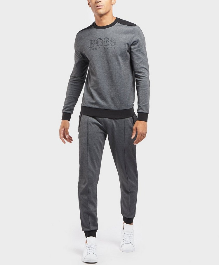 BOSS Poly Pique Cuffed Fleece Pants