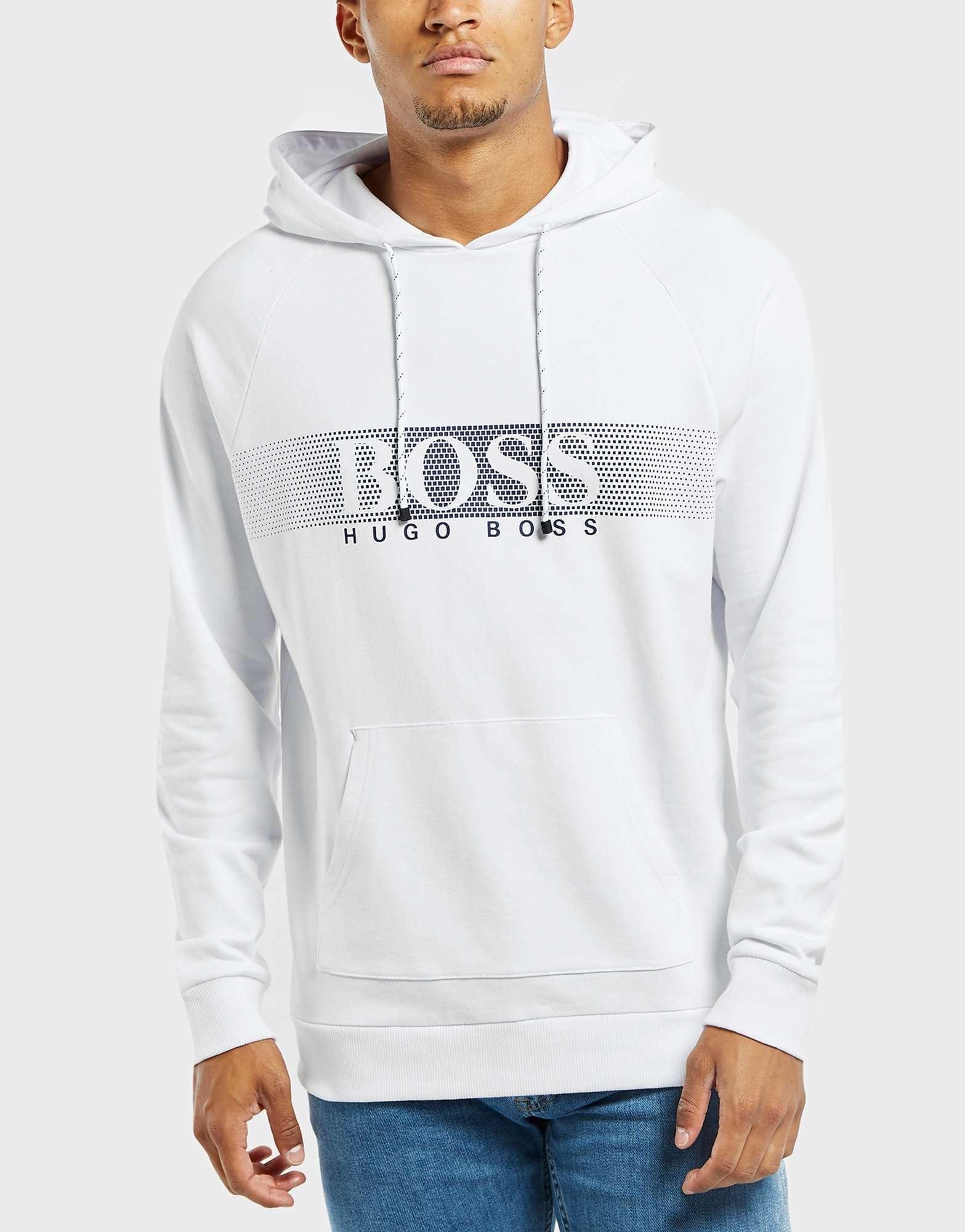 BOSS Panel Logo Overhead Hoodie