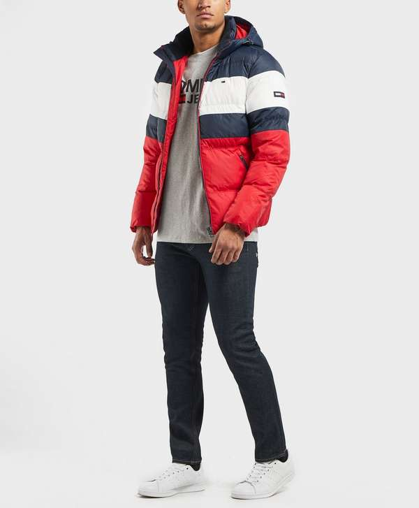 Tommy Jeans Jeans Colour Block Padded Jacket